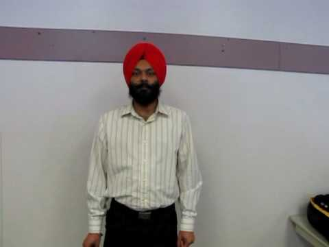 Inderdeep Sidhu, worker at Winner's Distribution Centre in Brampton