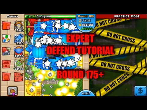 Bloons TD Battles Expert Defend Tutorial! - Round 175 ...