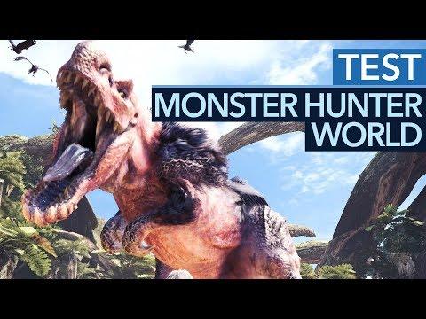Monster Hunter World im Test - Schon auf PS4 & Xbox One ein Hit