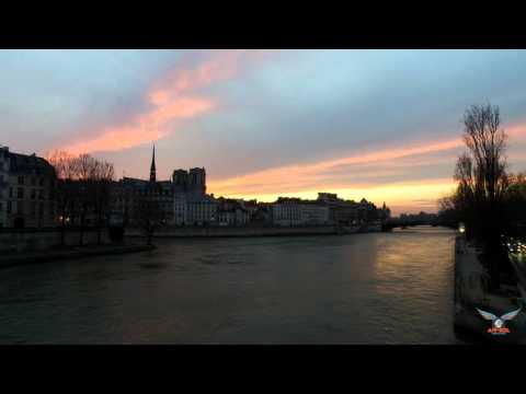Sunset Paris - Timelapse
