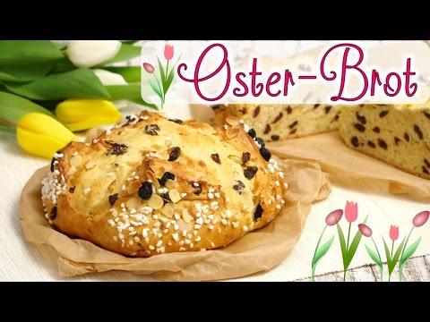 Oster-Brot I Rosinenbrot I Osterbrot I Traditionelles Oster-Gebäck