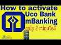 How to activate UCO Bank mobile banking in hindi यूको बैंक मोबाइल बैंकिंग कैसे चालू करें ( Hindi)