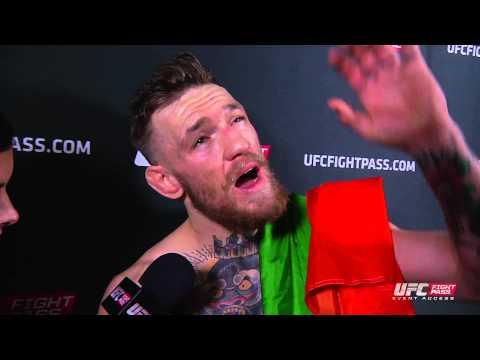 Fight Night Boston: Conor McGregor Backstage Interview