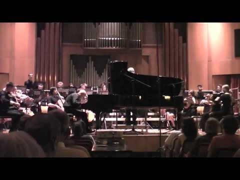 E. Grieg Concerto in la min. op. 16. Roberto Cappello, dir. Emir Saul Bolzano 12 giugno 2015