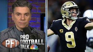 Gambar cover Drew Brees donates $5 million to COVID-19 relief | Pro Football Talk | NBC Sports