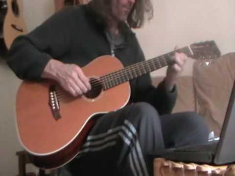 daddad guitar jam