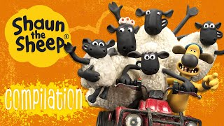Petualangan di luar peternakan 2 | Kompilasi | Shaun the Sheep