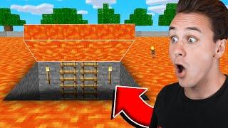 I Found Preston's SECRET LAVA Base In Minecraft!