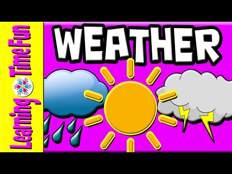 Learn The Weather For Kids