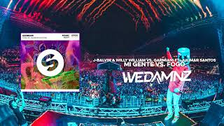 J-Balvin & Willy William vs. Garmiani ft. Julimar Santos - Mi Gente vs. Fogo (WeDamnz Mashup)