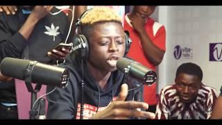 Mc One a Vibe FM pour l&#39emission &quot Vibe Punchline &quot