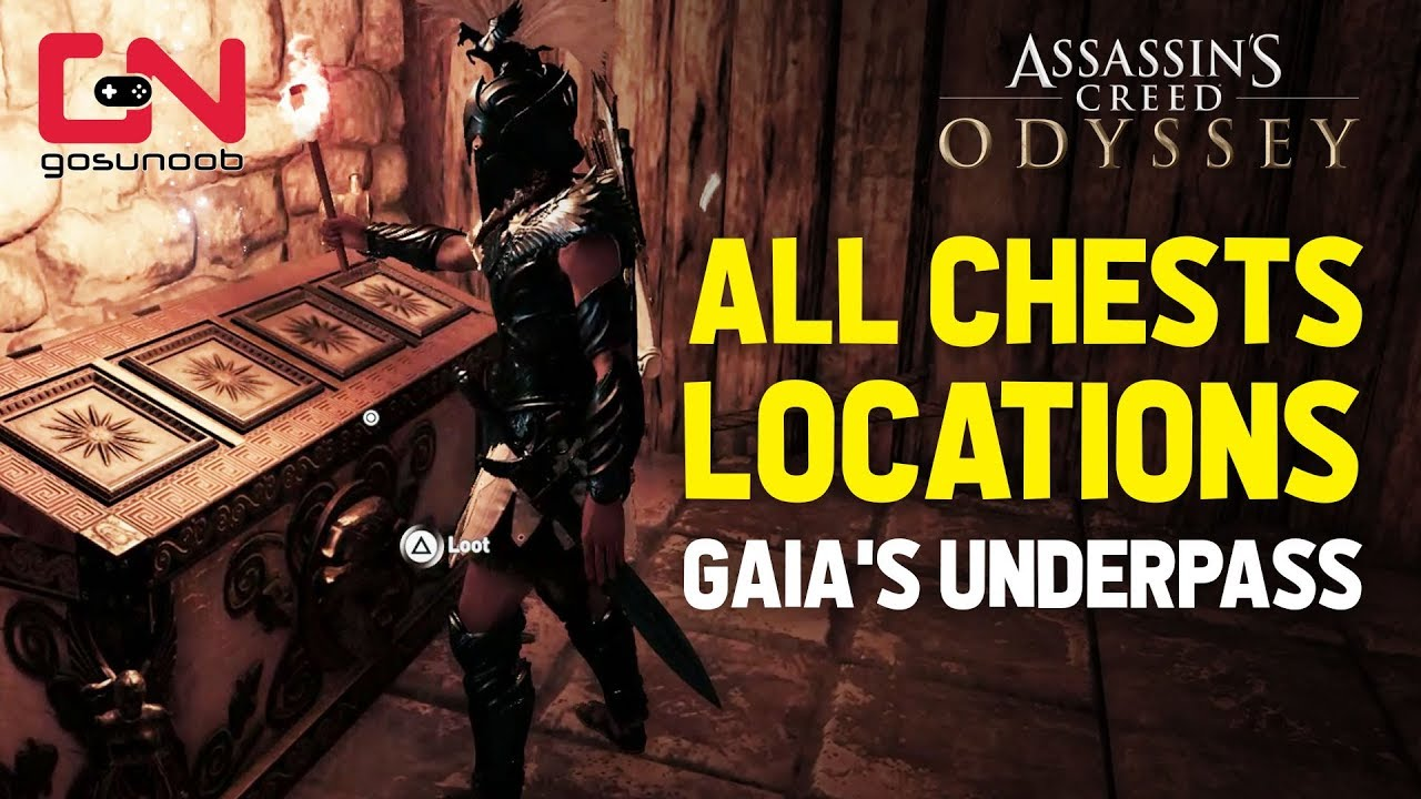 AC Odyssey - The fate of Atlantis - Gaia low pass puzzle