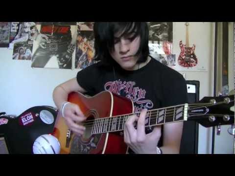 The Mortician's Daughter Black Veil Brides guitar cover