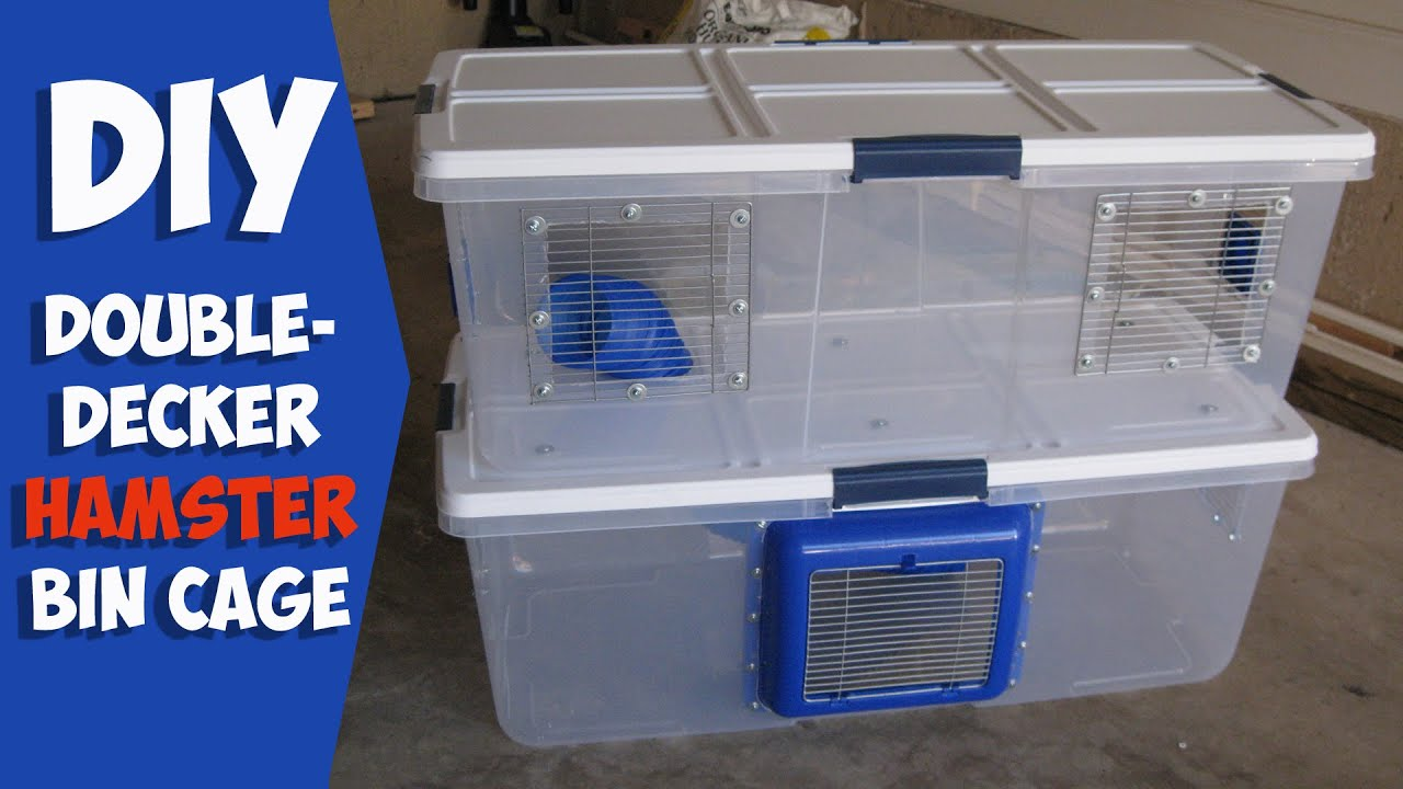 Homemade hamster cages homemade ftempo for How to build a hamster cage