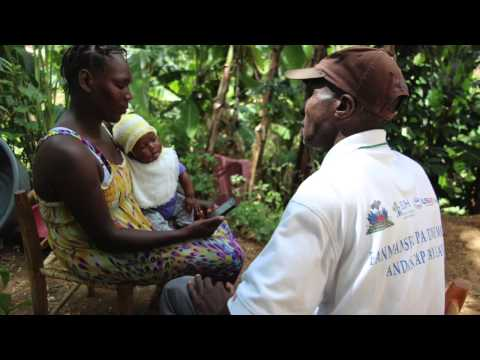 Mobile Health Changes Lives in Haiti