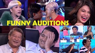 10 FUNNY Auditions in Pilipinas Got Talent 2018