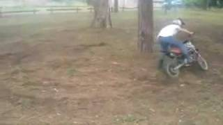 Fun with a 70cc dirt bike