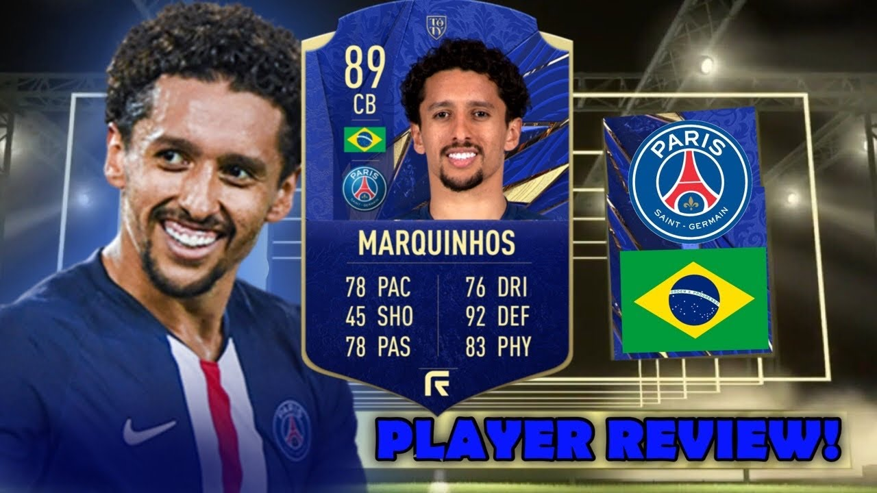 HE'S CRACKED! 🔥 89 TOTY HONOURABLE MENTIONS MARQUINHOS PLAYER REVIEW!  (TOTY NOMINEES)- FIFA 21 - YouTube