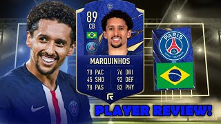 HE'S CRACKED! 🔥 89 TOTY HONOURABLE MENTIONS MARQUINHOS PLAYER REVIEW! (TOTY NOMINEES)- FIFA 21