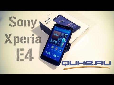 Обзор Sony Xperia E4 | Sony Xperia E3 - что нового? ◄ Quke.ru ►