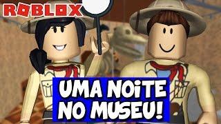 UMA NOITE NO MUSEU! - Roblox (Escape the Museum)