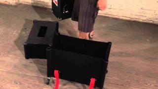 Gator Case's Rolling Guitar Amp Transporter