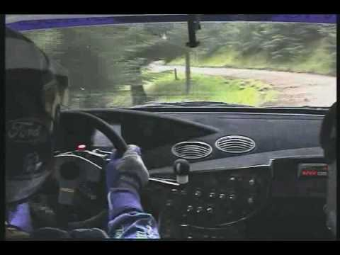 Legendary rally driver Colin McRae talks through a number of rallying techniques