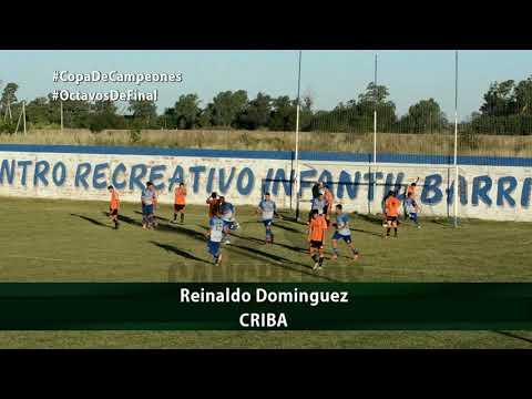 #CopaDeCampeones   Gol de Reinaldo Dominguez (CRIBA)