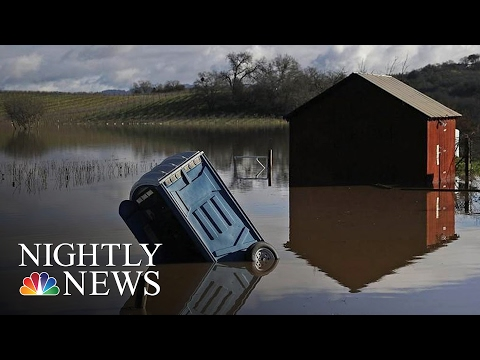 Much Of Northern California Out Of Drought After Series Of Storms | NBC Nightly News