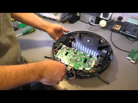Playing with Junk 24 - Robot Vacuum Cleaner