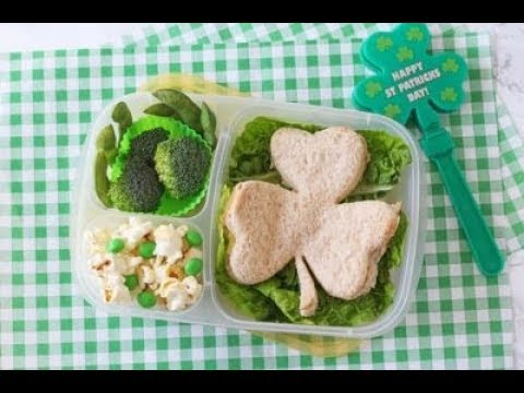 Fun St Patrick's Day Lunch for Kids