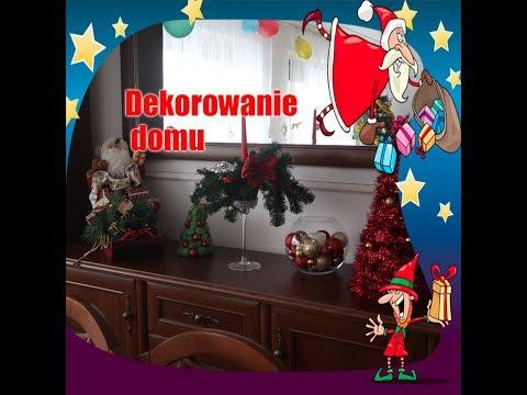 Dekorowanie domu na Święta :)