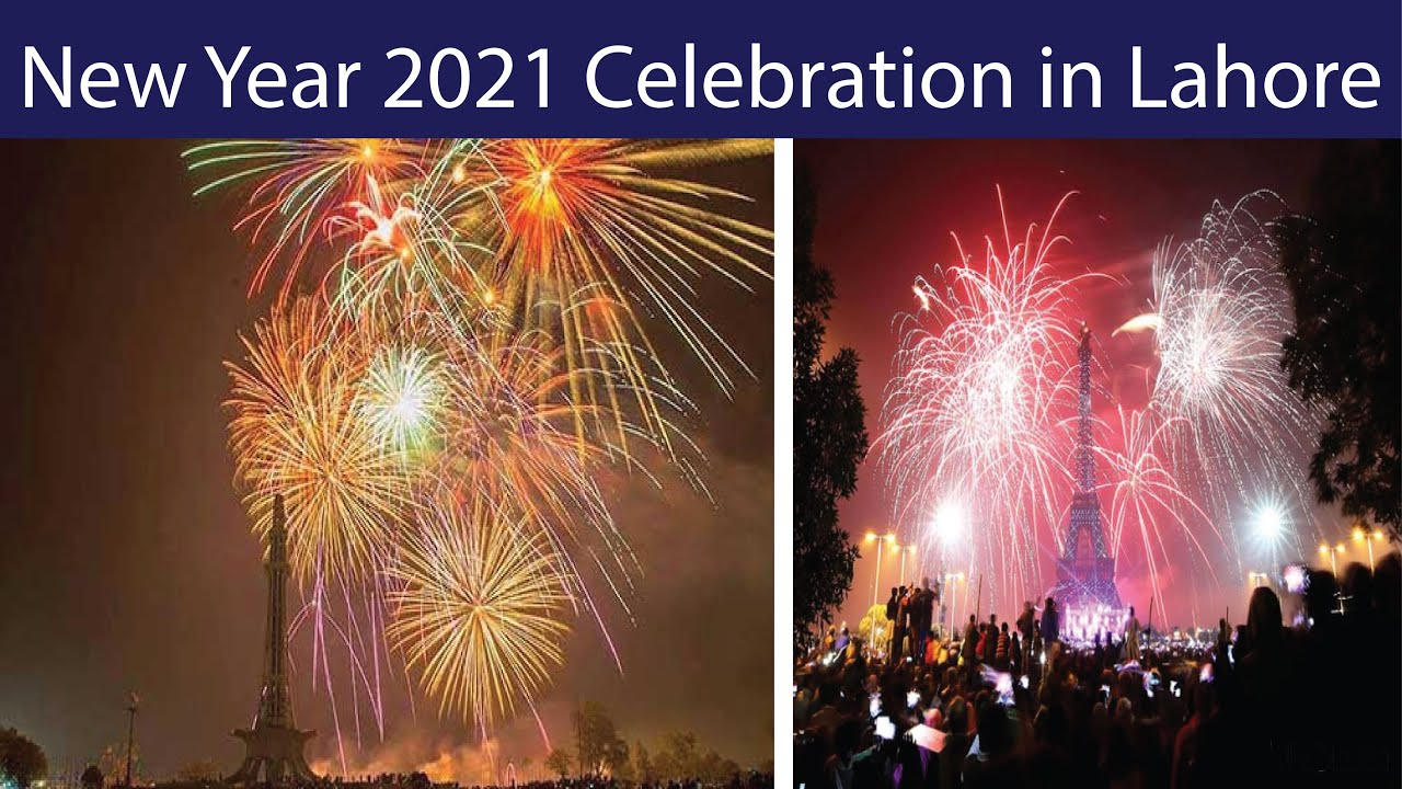 New Year 2021 Celebration in Lahore | Pakistan | Amazing Fireworks in Pakistan | 2021