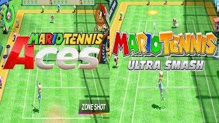 Mario Tennis Aces VS Mario Tennis Ultra Smash