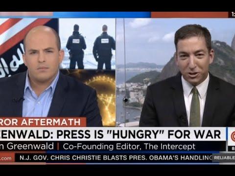 Glenn Greenwald: CNN Has Basically Become State TV War Propaganda