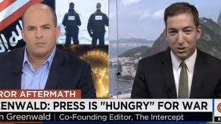 Glenn Greenwald: CNN Has Basiy Become State TV War Propaganda