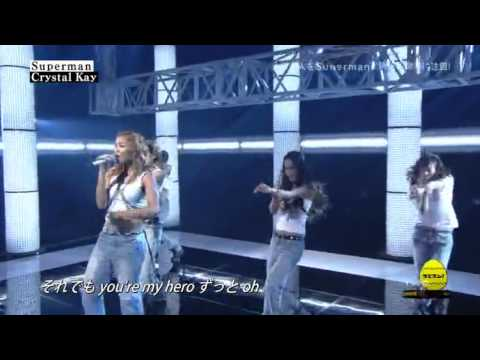 Crystal Kay Superman Live