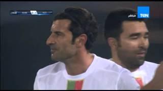 """الهدف الاول لمنتخب نجوم العالم بقدم اللاعب لويس فيجو """" نجوم العالم vs منتخب الكويت """""""
