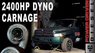 Download 2400HP DYNO CARNAGE | Power Driven Diesel Mp3 and Videos