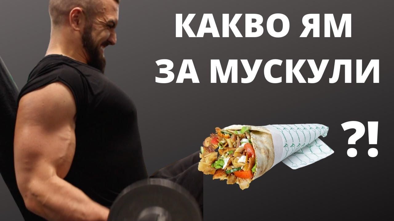 Храна За МУСКУЛНА МАСА / Full Day Of Eating