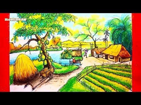 cách vẽ tranh phong cảnh - Vẽ Tranh Phong Cảnh - Cách Vẽ Tranh Phong Cảnh - Hướng Dẫn Vẽ Tranh Phong Cảnh