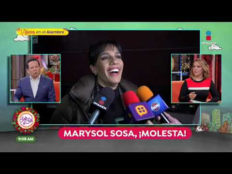 ¡Marysol Sosa, molesta con Sarita por salir en portada de revista! | Sale el Sol