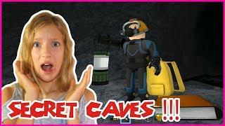 SECRET UNDERWATER CAVES!