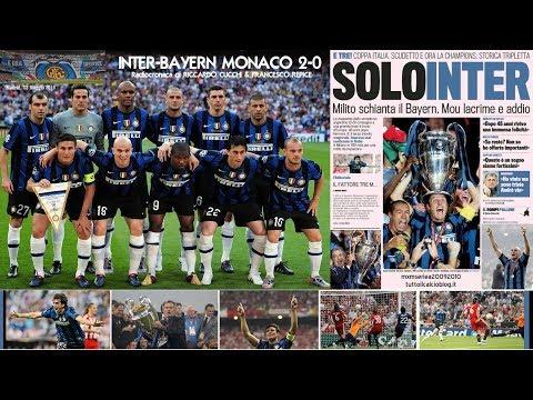 Inter-Bayern Monaco 2-0 - Tutta la radiocronaca di Riccardo Cucchi & Francesco Repice (Radio Rai)