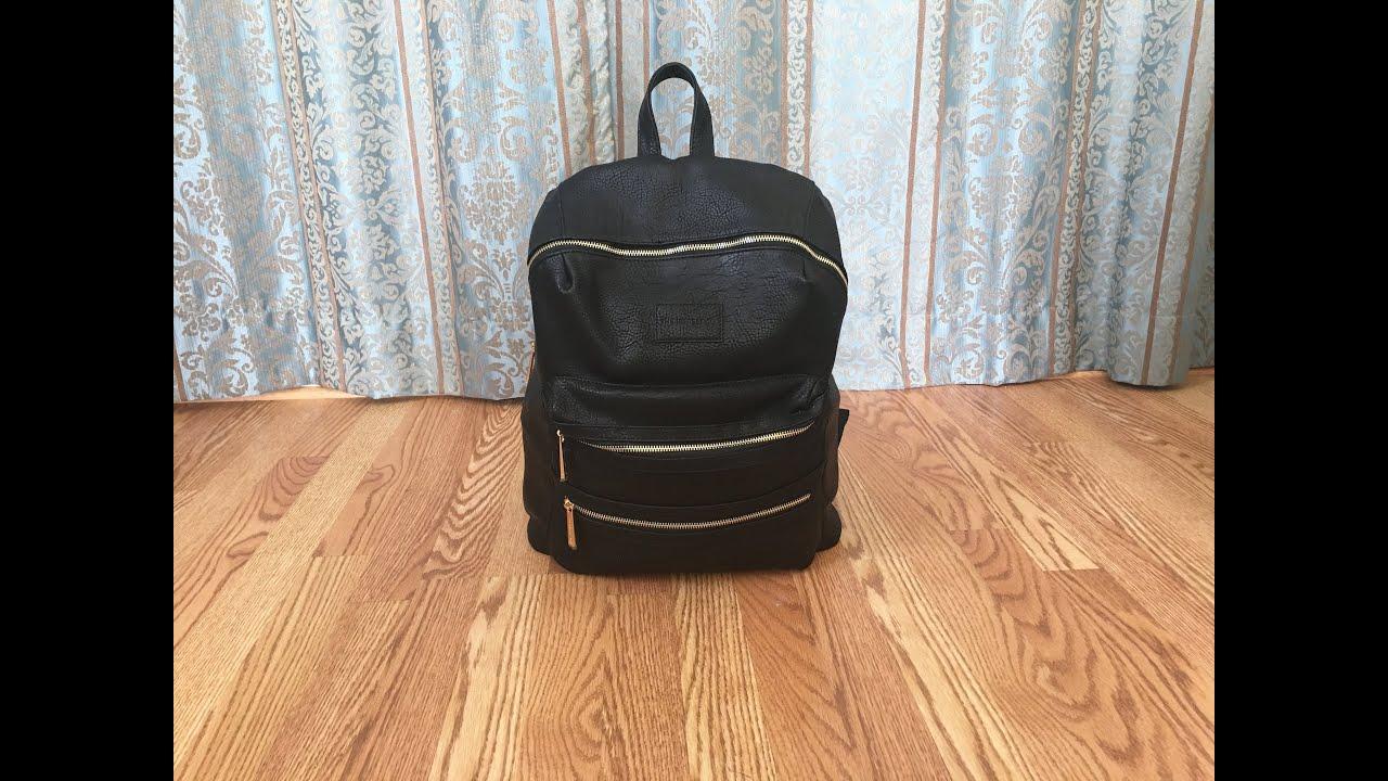 honest co backpack diaper bag review youtube. Black Bedroom Furniture Sets. Home Design Ideas