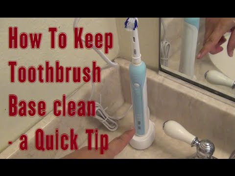 how-to-keep-electric-toothbrush-base-clean---a-learnbyblogging-quick-tip