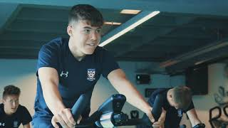 York City Academy train at Supersonic Fitness