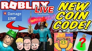 NUOVO UNBOXING SIMULATOR CODES, 179T Danni BEST SWORD & MORE Live Roblox Charity Livestream