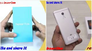 REDMI NOTE 4 VS HONOR 9LITE REVIEW  [OVER 4K VIEWER]