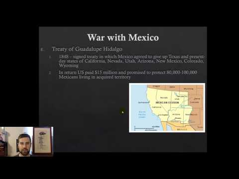 Mexican American War and Gadsden Purchase
